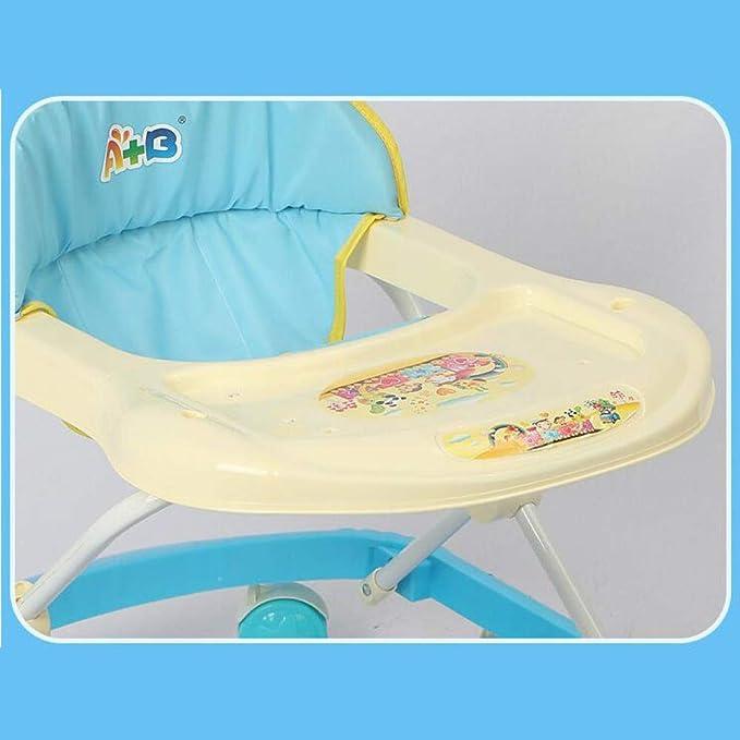 Niñito Andador de bebé, estándar-Rosa Carro (Color : Standard ...