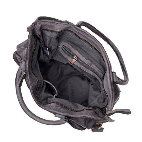 Dudu - Sac porté épaule - 580-1087 Timeless - Bag - Gris Stone - Femme