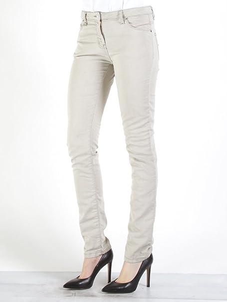 Carrera Jeans - Jogger vaqueros 752 para mujer, estilo recto, color liso, interior felpudo, ajuste regular, cintura normal: Amazon.es: Ropa y accesorios