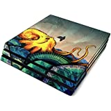 from The Deep Full Faceplates Skin Decal Wrap with 2 Piece Lightbar Decals for Playstation 4 Pro