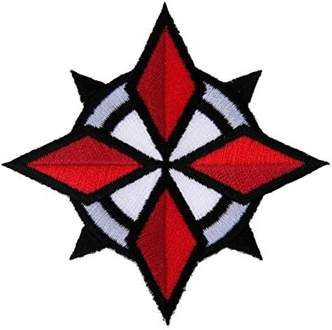 Titan One Europe Resident Evil Umbrella Corporation USS Security Special Forces Star Patch Aufn/äher Aufb/ügler Patch