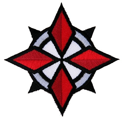 Resident Evil Umbrella Corporation USS Security Special Forces Star Patch Iron On by Titan One Europe