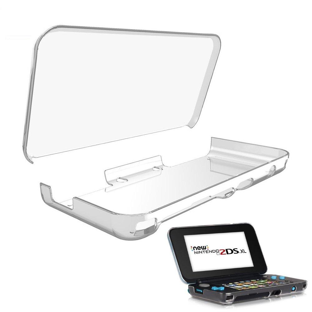 HEYSTOP Funda para Nintendo New 2DS XL Case Dura y Transparente para Proteger tu New Nintendo 2DS XL 2017