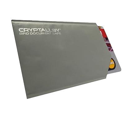 Herren-accessoires Einfach Rfid Kreditkarte Sleeve Schutz Sperrung Kontaktlose Aluminium Portemonnaie Geldbörsen & Etuis