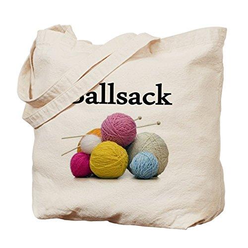 CafePress Yarn - Natural Canvas Tote Bag, Cloth Shopping Bag