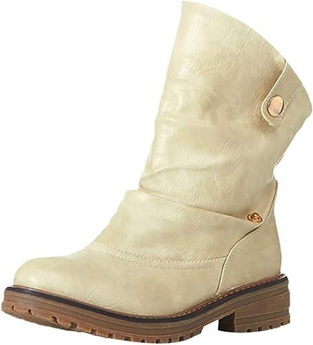 Carres manadlian Bottines Western Bloc Talon Boots A Femme 0wON8PnkXZ
