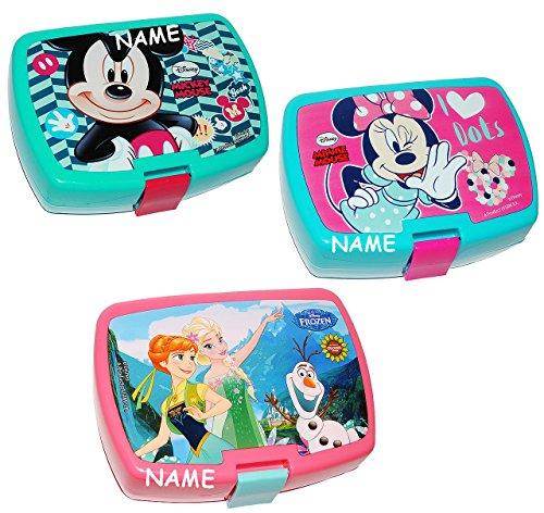 1 Stück __ Lunchbox / Brotdose - für Mädchen - incl. Name -