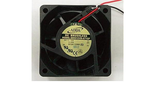 60x25mm AD0612VB-A71GP 12V 0.54A 2Wire 6cm adda Cooling Fan
