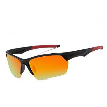 7fffabea49 Gafas de Sol Deportivas Polarizadas para Hombre Perfectas para Esquiar Golf  Correr Ciclismo Súper Liviana para Unisex Adulto: Amazon.es: Deportes y  aire ...