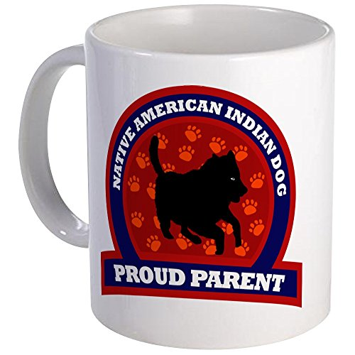 CafePress - Native American Indian Dog Mug - Unique Coffee Mug, Coffee Cup