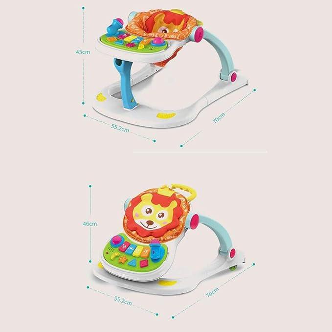 4 En 1 Baby Walker Multifunción Anti-vuelco Prevenga Las Piernas ...