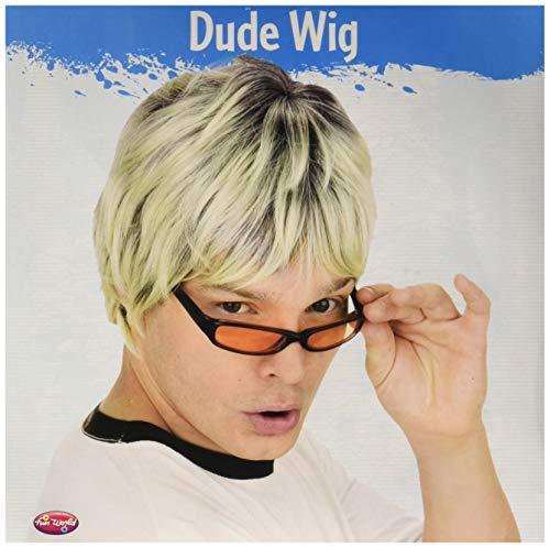 Jeff Spicoli Halloween Costumes - Fun World Men's Dude Wig in