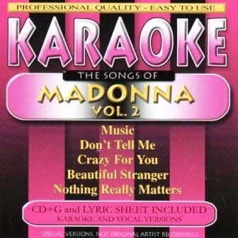Madonna Karaoke - Karaoke: The Songs of Madonna Vol. 2