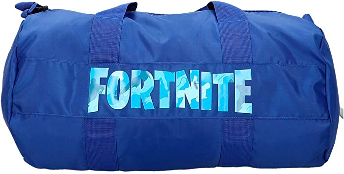 Fortnite - Saco deporte, Azul, 54x27 cm (77084): Amazon.es: Equipaje