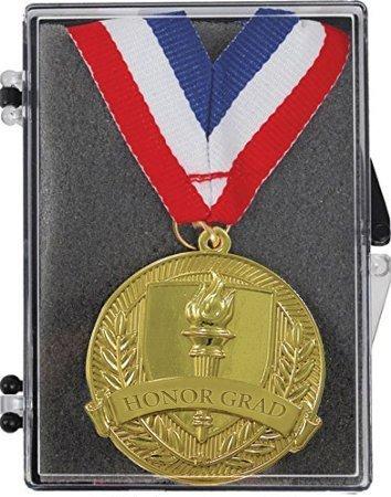 Shining Gold HONOR GRAD Medal In Box