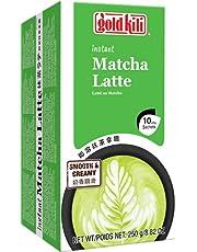 GOLD KILI Instant Matcha Latte Drink [10 x 25g] Matcha Latte 抹茶…