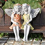 Cheap Miniature Fairy Garden Fairy Best Friends