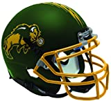 Schutt NCAA North Dakota State Bison Mini Authentic XP Football Helmet, Matte Green Alt. 1, Mini