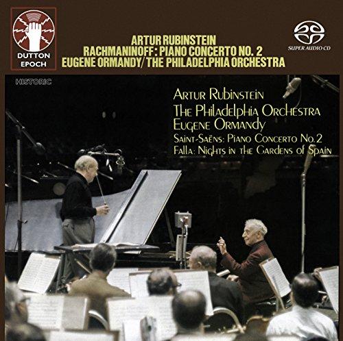 Artur Rubinstein - Rachmaninov: Piano Concerto No. 2 & Saint-Saëns: Piano Concerto No. 2/Falla: Nights in the Gardens of Spain