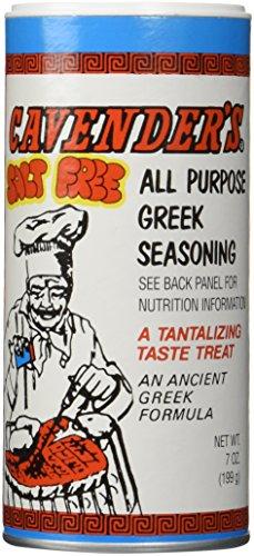 Cavender's All Purpose Salt Free Greek Seasoning 7 oz (NO MSG)