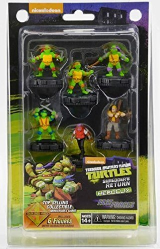 Miniature Heroclix (Teenage Mutant Ninja Turtles HeroClix: Shredder's Return Fast Forces)