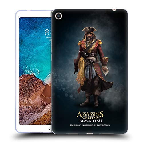 Official Assassin's Creed Bartholomew Roberts Black Flag Characters Soft Gel Case for Xiaomi Mi Pad 4 Plus