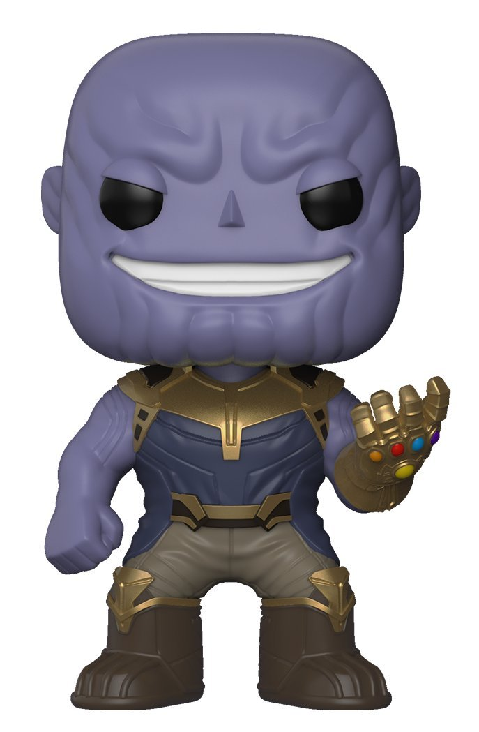 Funko Pop Infinity War Thanos, Avengers, Infinity War, Marvel Universe, MCU, Marvel Cinematic Universe, Iron Man, Thor, Thanos, cosplay, cosplay gear, action figures, Marvel items, Incredible Hulk, Spider Man, Captain America, Black Widow, Doctor Strange