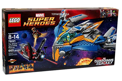 Lego Superheroes The Milano Spaceship Rescue Building Set