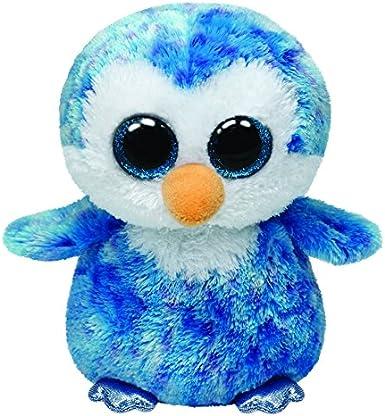 TY - Pinguino Ice Cube di Peluche, Beanie Boos, 15,24 cm, Colore