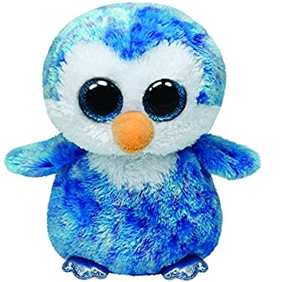 516137de2b1 Amazon.com  Ty Beanie Boos Ice Cube - Penguin  Toys   Games