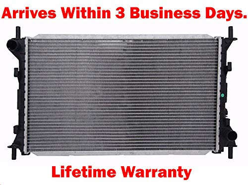 (Machine Supplies 2743 Radiator Compatible Part for Ford Focus 2000-2007 2.0 2.3 L4 W/O Heater Return Line)