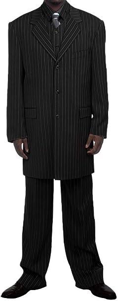 Amazon.com: Vestido negro de 3 piezas para hombre con ...