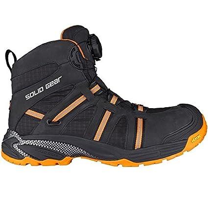 Solid Gear sg8000745 Phoenix GTX – Zapatos de seguridad S3 talla 45 NEGRO/NARANJA