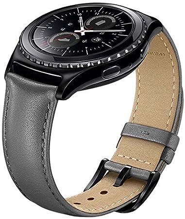 Samsung ET-SLR73MSEGWW - Correa para smartwatch Samsung Gear S2 Classic, color gris
