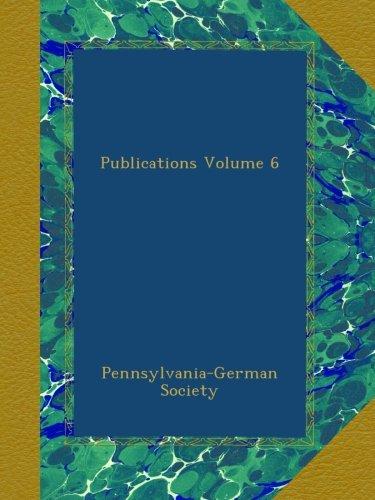 Download Publications Volume 6 pdf