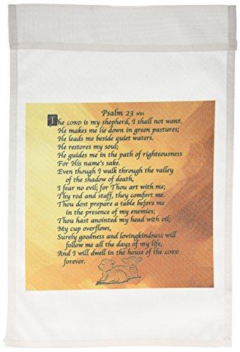 3dRose fl_58716_1 Psalm 23