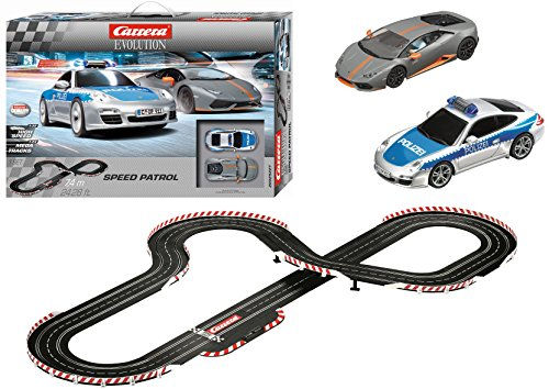 Carrera Evolution Speed Patrol Slot Car Race Set from Carrera