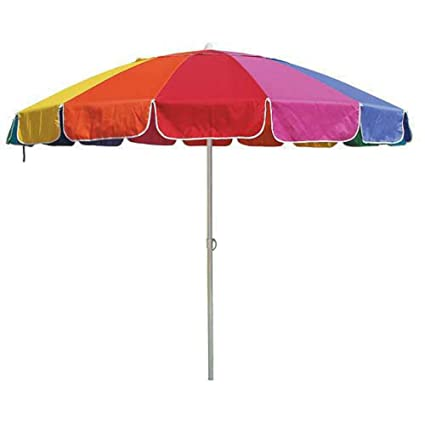 1b836e43e037 Amazon.com : EasyGo Beach Umbrella : Sun Shelters : Garden & Outdoor