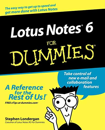 Lotus Notes 6 For Dummies