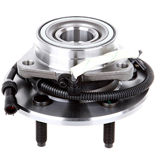 OCPTY Wheel Bearing Hub 515029 Front Bearing Assembly W/ABS 5 Lugs fit for 2000-2003 fit ford F-150, 2004 fit ford F-150 SVT Lightning, 2004 fit ford F-150 Heritage