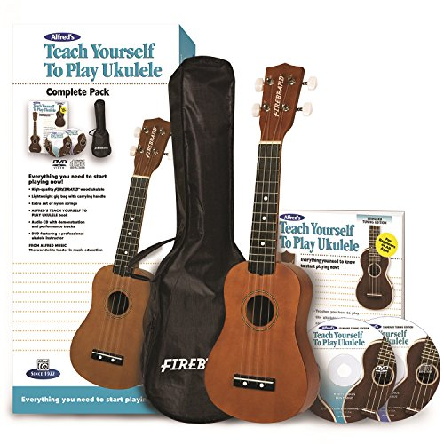 Alfred's Teach Yourself to Play Ukulele, Complete Starter Pack by Alfred Music Publishing