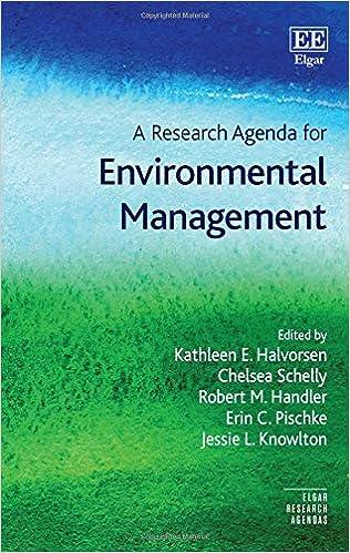 A Research Agenda for Environmental Management (Elgar ...