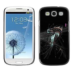 TopCaseStore / la caja del caucho duro de la cubierta de protección de la piel - Fantasy Dragon Monster - Samsung Galaxy S3 I9300