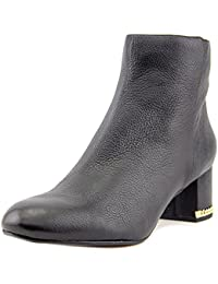 Womens Sabrina Mid Bootie Leather Closed Black Size 10.0