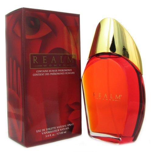 Realm By Erox For Women. Eau De Toilette Spray 3.4 Ounces