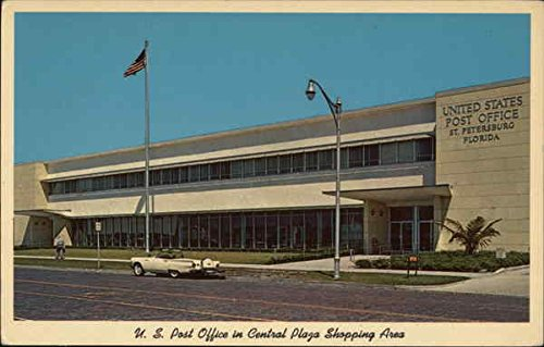 U.S. Post Office in Central Plaza Shopping Area St. Petersburg, Florida Original Vintage - In Petersburg Shopping St
