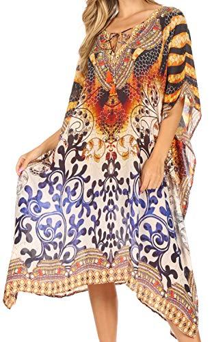 Vestido bohemio vibrante ligero