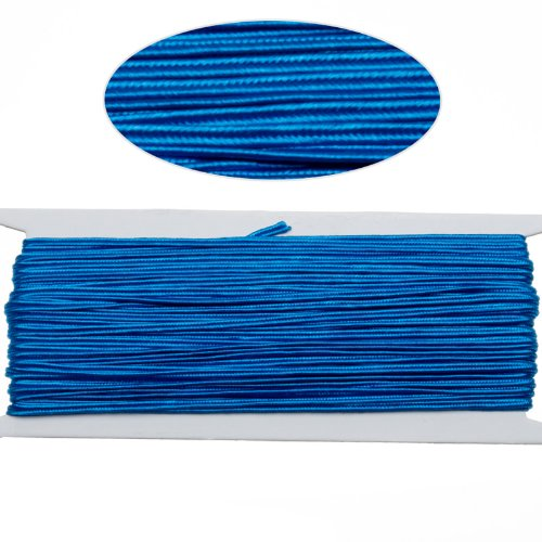 - Royal Blue Color Soutache Cord for Jewelry Making-65 Feet-2.5mm Width