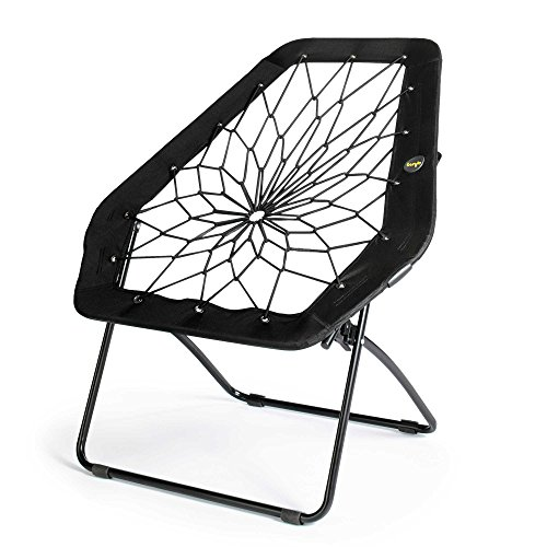 Oversized Hex Chair (Black) by Bunjo