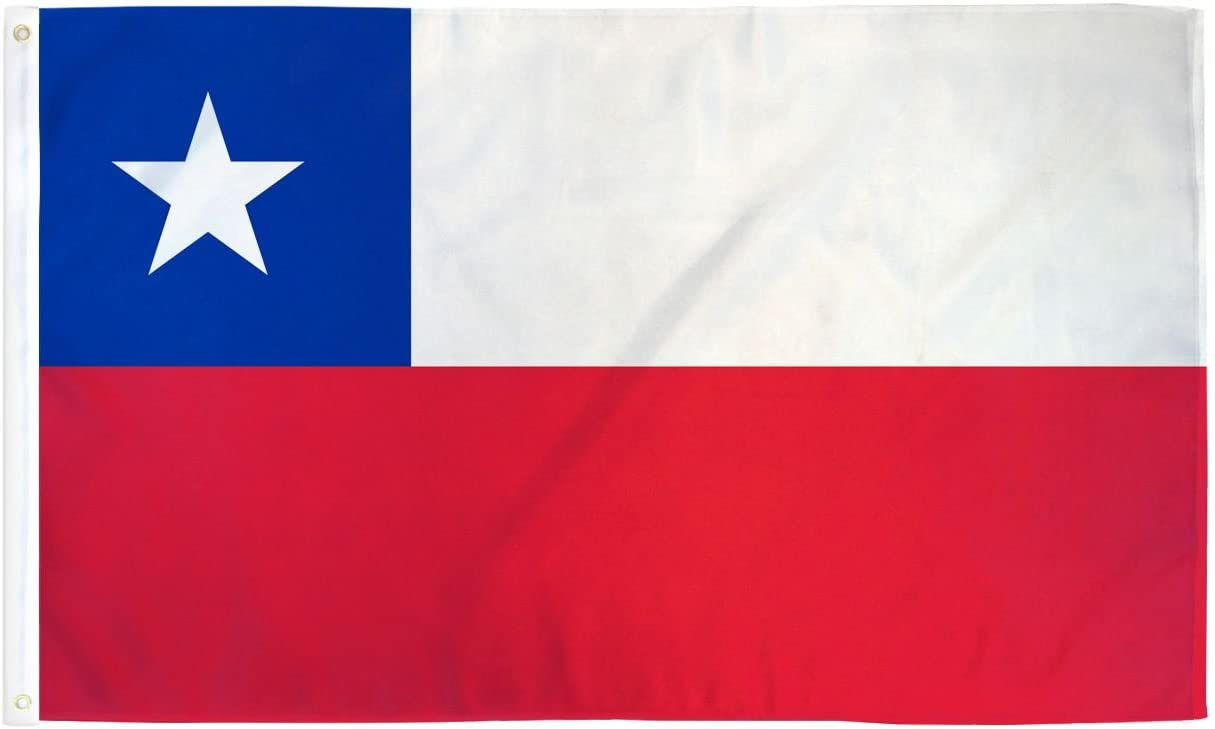 2x3 Chile Flag Chilean Country Banner South America Pennant Bandera 24x36 inch